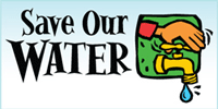 Save our water.